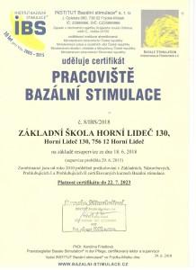 certifikát bs